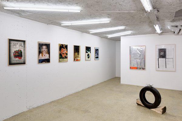 "David Evrard, ""I Like It Raw"", vue d'exposition - photo © Romain Darnaud"