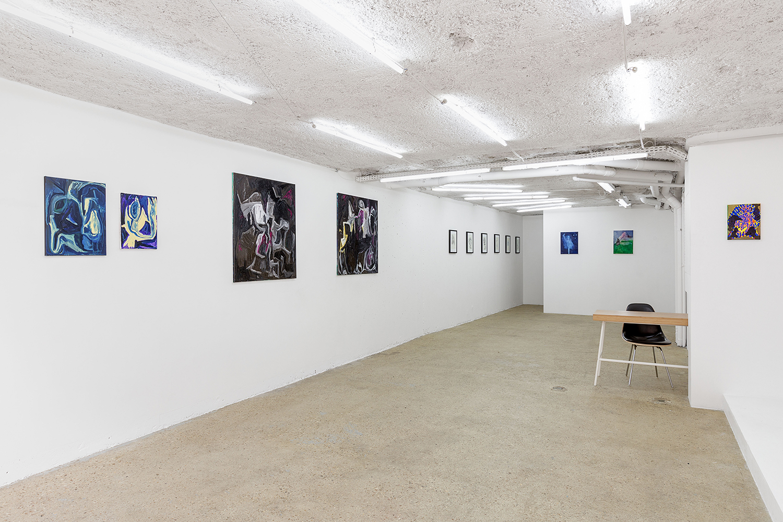 "Arnaud Deschin Galerie, Group show ""Air de Berlin"", 2017 - photo © Romain Darnaud"